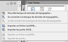 Import LandXML Ascii