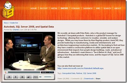 Microsoft SQL Server 2008 Autodesk AutoCAD