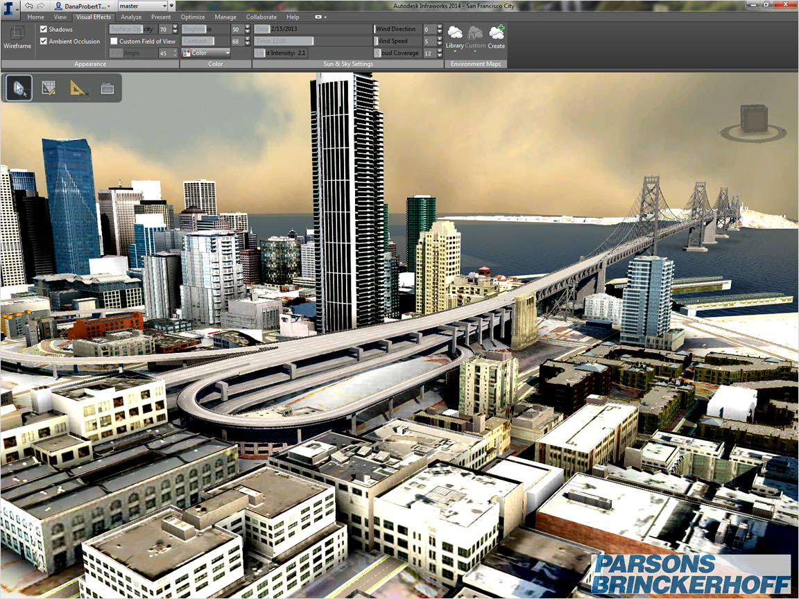Geospatial made in France: Autodesk InfraWorks